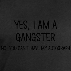 gangster yes no cant have autograph t-shirt - Men's Sweatshirt by Stanley & Stella