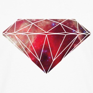 Diamond Galaxy T-Shirts - Men's Premium Longsleeve Shirt