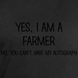 farmer yes no cant have autograph t-shirt - Men's Sweatshirt by Stanley & Stella