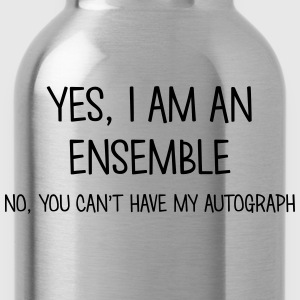 ensemble yes no cant have autograph t-shirt - Gourde
