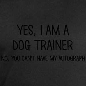 dog trainer yes no cant have autograph t-shirt - Men's Sweatshirt by Stanley & Stella