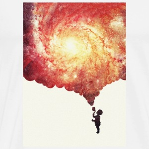 The universe in a soap-bubble - phone Case  Tazas y accesorios - Camiseta premium hombre