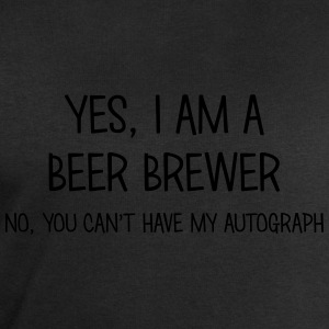 beer brewer yes no cant have autograph t-shirt - Men's Sweatshirt by Stanley & Stella