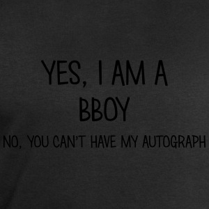 bboy yes no cant have autograph t-shirt - Men's Sweatshirt by Stanley & Stella