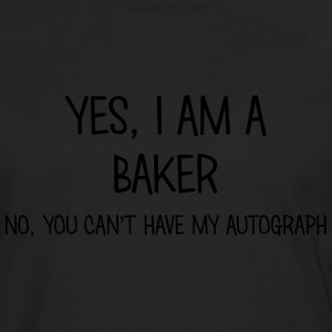 baker yes no cant have autograph t-shirt - Men's Premium Longsleeve Shirt