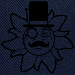 Sir Lord gentlemen cylinder monocle glasses mustac T-Shirts - Snapback Cap