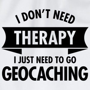Therapy - Geocaching T-shirts - Gymtas