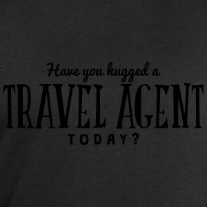have you hugged a travel agent today t-shirt - Men's Sweatshirt by Stanley & Stella