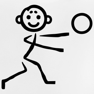 Stick figure with ball Shirts - Baby T-Shirt