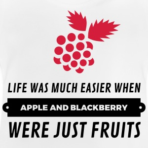 When cell phones were just fruits! Shirts - Baby T-Shirt