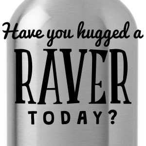 have you hugged a raver today t-shirt - Water Bottle