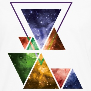 Art Triangle Galaxy T-Shirts - Men's Premium Longsleeve Shirt
