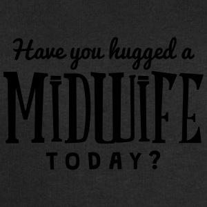 have you hugged a midwife today t-shirt - Men's Sweatshirt by Stanley & Stella