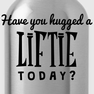 have you hugged a liftie today t-shirt - Gourde