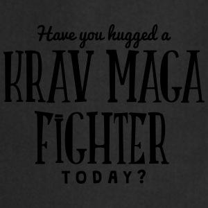 have you hugged a krav maga today t-shirt - Cooking Apron