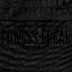 have you hugged a fitness freak today t-shirt - Kids' Backpack