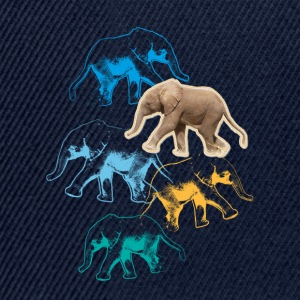 Animal Planet elefant långärmad T-shirt barn - Snapbackkeps