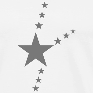 Black star - T-shirt Premium Homme