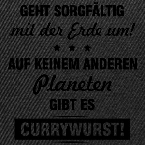 Planet Currywurst T-Shirts - Snapback Cap