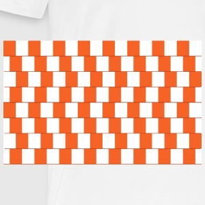 Confusing lines Orange - Männer Premium T-Shirt