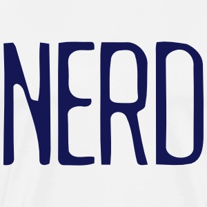 Nerd Topper - Premium T-skjorte for menn