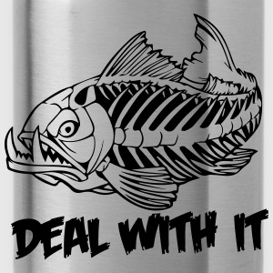 deal with it T-Shirts - Water Bottle