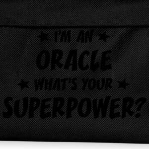 im an oracle whats your superpower t-shirt - Kids' Backpack