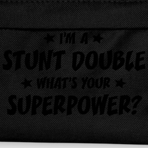 im a stunt double whats your superpower t-shirt - Sac à dos Enfant