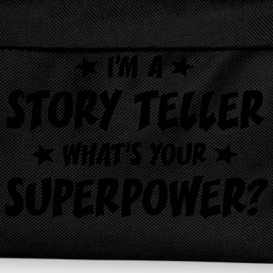 im a story teller whats your superpower t-shirt - Sac à dos Enfant