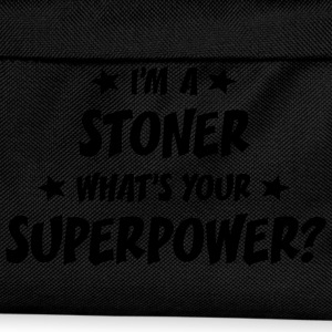 im a stoner whats your superpower t-shirt - Sac à dos Enfant