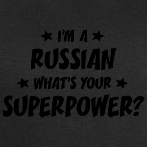 im a russian whats your superpower t-shirt - Men's Sweatshirt by Stanley & Stella