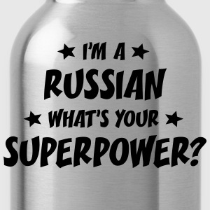im a russian whats your superpower t-shirt - Water Bottle