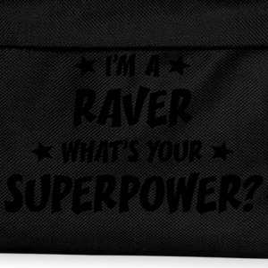 im a raver whats your superpower t-shirt - Kids' Backpack