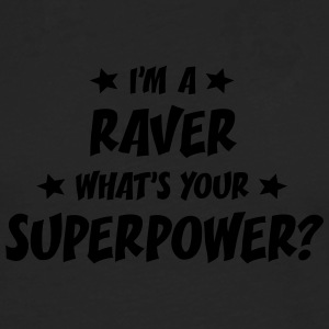im a raver whats your superpower t-shirt - Men's Premium Longsleeve Shirt