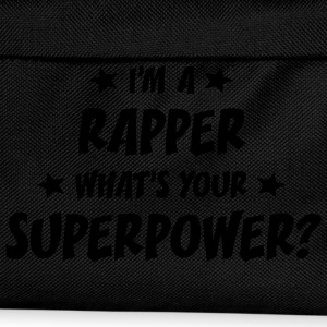 im a rapper whats your superpower t-shirt - Kids' Backpack