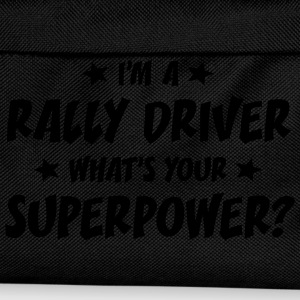 im a rally driver whats your superpower t-shirt - Kids' Backpack