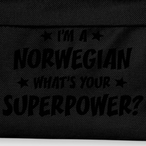 im a norwegian whats your superpower t-shirt - Kids' Backpack