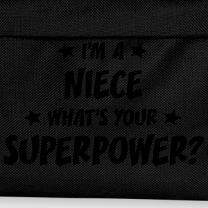 im a niece whats your superpower t-shirt - Kids' Backpack