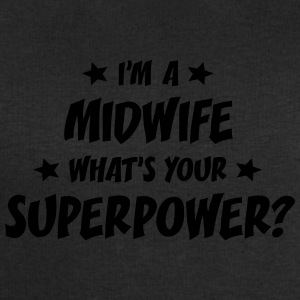 im a midwife whats your superpower t-shirt - Men's Sweatshirt by Stanley & Stella