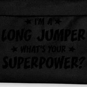 im a long jumper whats your superpower t-shirt - Sac à dos Enfant