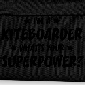 im a kiteboarder whats your superpower t-shirt - Sac à dos Enfant