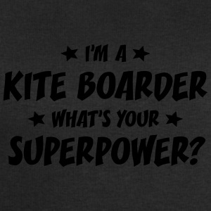 im a kite boarder whats your superpower t-shirt - Sweat-shirt Homme Stanley & Stella