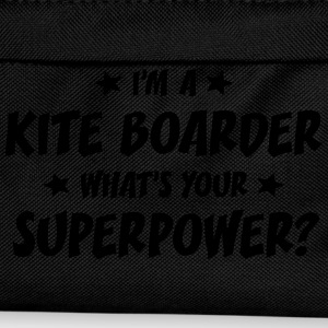 im a kite boarder whats your superpower t-shirt - Kids' Backpack