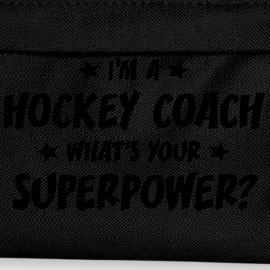 im a hockey coach whats your superpower t-shirt - Kids' Backpack