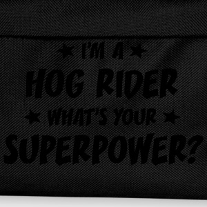 im a hog rider whats your superpower t-shirt - Kids' Backpack