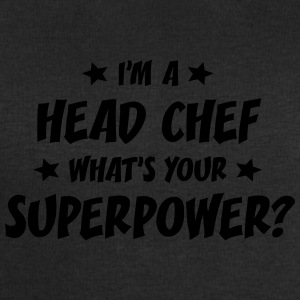 im a head chef whats your superpower t-shirt - Men's Sweatshirt by Stanley & Stella