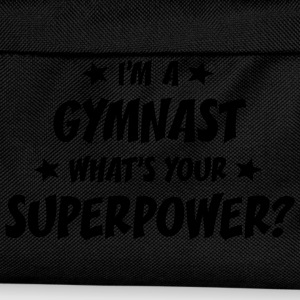 im a gymnast whats your superpower t-shirt - Kids' Backpack