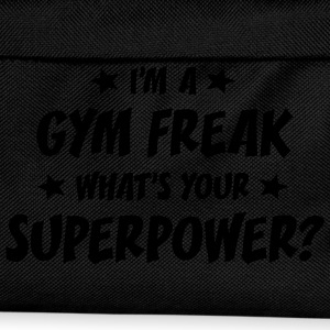 im a gym freak whats your superpower t-shirt - Kids' Backpack