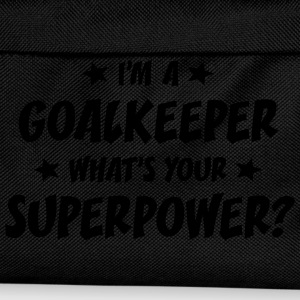 im a goalkeeper whats your superpower t-shirt - Kids' Backpack