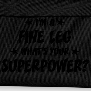 im a fine leg whats your superpower t-shirt - Kids' Backpack